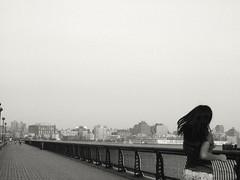 Hudson River, Hoboken - by Nesster