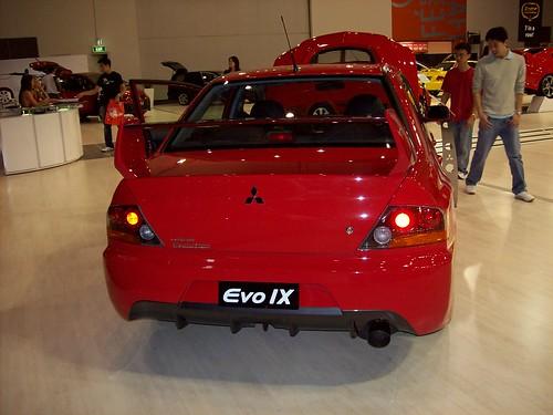 2007 Perth Motor Show. Mitsubishi Evo IX. 18 Aug '07, 11.01am WST PST