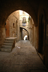 Jerusalem, Old City - Jewish Quarter (Sam Rohn - 360 Photography) Tags: travel architecture israel interesting ancient peace nikond70 availablelight palestine jerusalem paz 1870mmf3545g jewish pax judaism nikkor oldcity paix islamicarchitecture jewishquarter alquds locationscouting locationscout muslimarchitecture samrohn locationscouts nylocationscom
