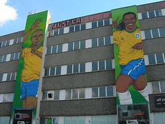 Murales Ronaldo Ronaldinho