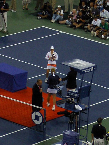 Justine Henin - Women's Champion