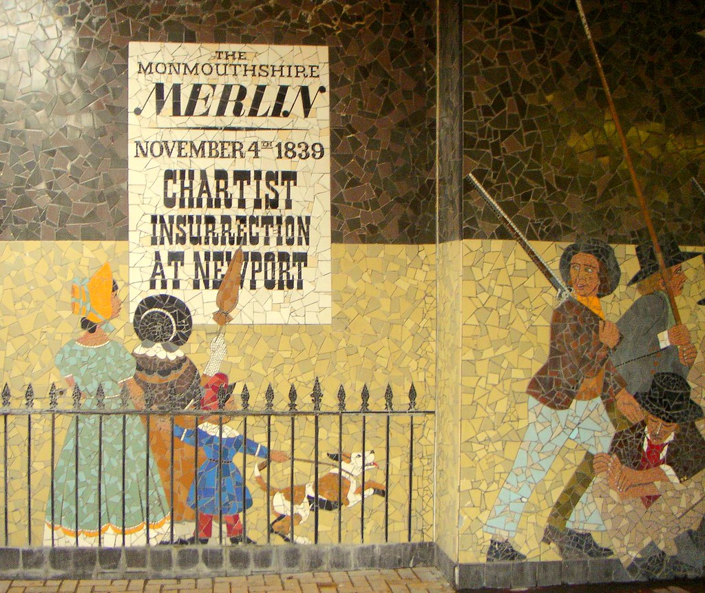 CHARTIST INSURRECTION AT NEWPORT | The Monmouthsire Merlin, 4 Nov 1839
