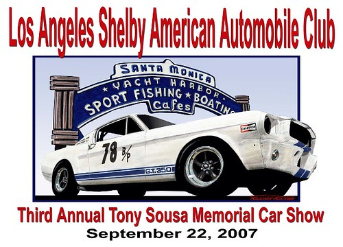 LA Shelby Auto club show