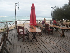 Our deck at Casa Barry - yes, breakfast there every morning! (olimiro) Tags: moz