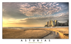 Astrias (Dante Laurini Jr) Tags: ocean trip morning blue light sunset pordosol sea summer brazil vacation sky sun mountain storm sol praia water rock stone brasil skyline night clouds sunrise dawn mar sand nikon rocks waterfront view areia dante c south dramatic asturias cu atlantic sp junior tropical nuvens noite reflexo ceu reflexos hdr relfection oceano luar guaruja rocha enseada d90 laurini pedrs vertorama oceanwaterfrontiphotooriginal dantelaurinijunior