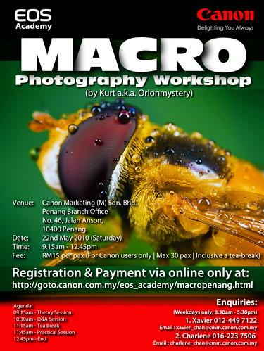 Malaysia Canon Macro Workshop - Penang