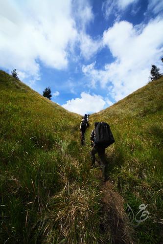 Tanjakan Cinta, en route to Kalimati (Mt Semeru)