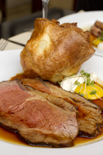 Sirloin and Popover