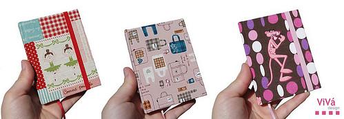 Agenda Petit Bailarinas/Japanese bags/Pantera cor-de-rosa