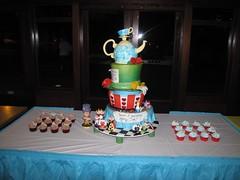 IMG_5760 (ArtisanCakeCompany) Tags: birthday cake portland hearts cupcakes bakery eatme teapot teacup madhatter toppers artisan teaparty aliceinwonderland fondant drinkme artisancakecompany