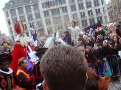 Sinterklaas desfila em Amsterdam