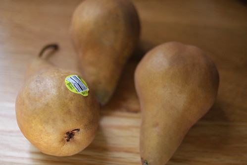 three pears for pear pie