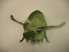 Back swimmer (PhillipWest) Tags: origami paperfolding papiroflexia