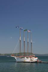 Bar Harbor Sail boat (robr3004) Tags: mini icecream cooper tgicr thegreaticecreamrun