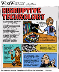 Week 24: Disruptive Technology by WilliamsProjects, on Flickr