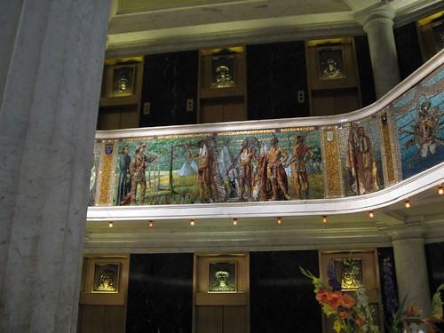 Marquette Building mosaic