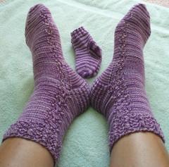 Sockapalooza4 socks on