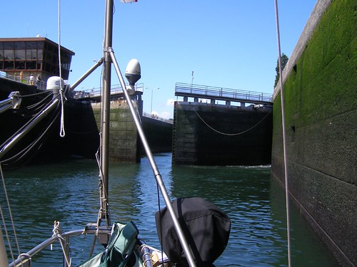 Another inside the Ballard locks