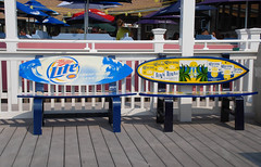 The Patio 020 (~gio~) Tags: summer vacation holiday signs beach sign bar america river bench point us newjersey unitedstates nj august patio miller corona shore jersey benches jerseyshore pleasant 2007 thepatio surboard pointpleasantbeach manasquan manasquanriver thepatiobar