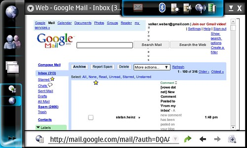 Google Mail not perfect