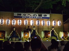 (Red Horse) Tags: summer japan drum taiko  iki