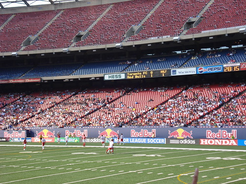 New York Red Bulls at home