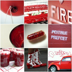 fav's from color+color week 5 - red and white