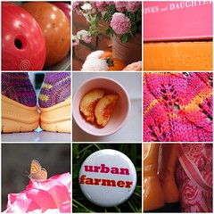 fav's from color+color: week 6 - pink and orange