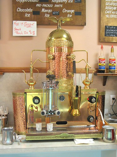 I Work Part Time At My Moms Coffee House And A Lot On The Espresso Machine Making We Dont Have Brass But They Are