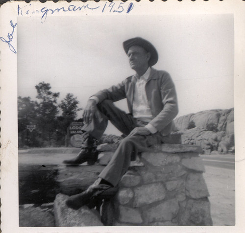 great-grandpa joe in kingman, arizona 1951 by freeparking.