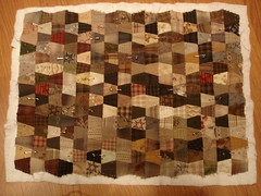 current doll quilt for me