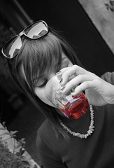 Happy spritz time (marcopesavento) Tags: snapshot nikond50 bn ritratto aperitivo vicenza spritz selectivecolor 1600iso 28mmf28af nikonstunninggallery fiveflickrfavs aperitifco obliquemind obliquamente