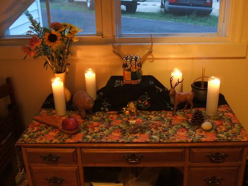 Autumn altar 2007