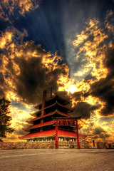 Reading's Pagoda (dfworks) Tags: reading pagoda pa hdr berkscounty 3xp photomatix sigma1020 superaplus aplusphoto superhearts platinumheartaward