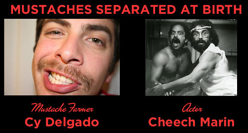 Mustaches Separated at Birth SIX