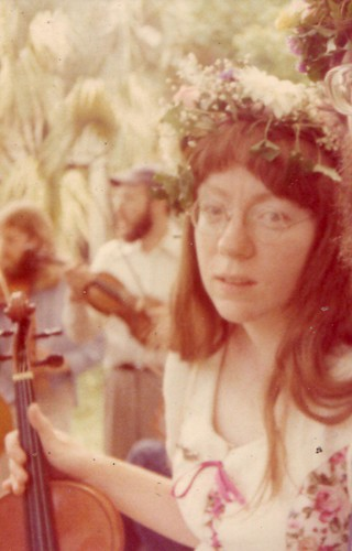 mama on her wedding day