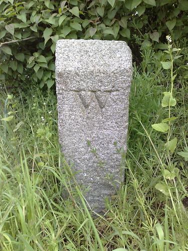 Pulham Market boundary stone