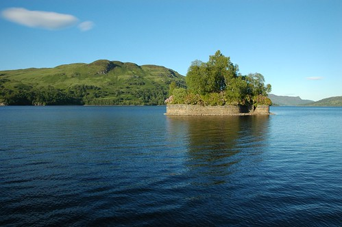 Factors Isle on Loch Katrine