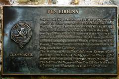 Plaque On The Dun Eibhinn Cairn, Colonsay