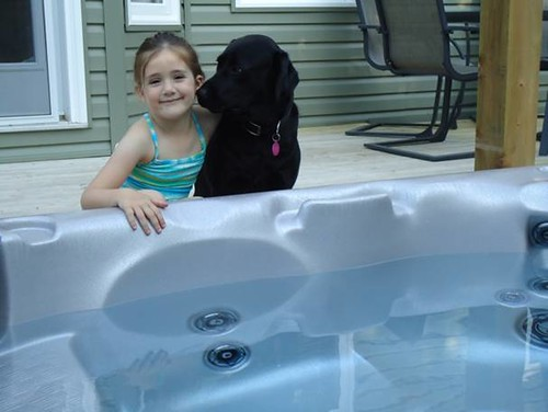 Can I get in the hot tub too?