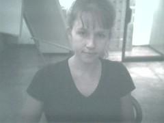 Courtney Eyebrows3 (lilbuttz) Tags: italy florence webcam firenze internetcafe internettrain accentflorencespring2002