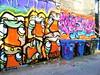 (maxwell colette) Tags: streetart chicago art graffiti grafiti tag mole throwups amuse dubb kwt chicagostreetart spoe bserk noteef snacki thebestalleyinwickerpark tagsthrowup