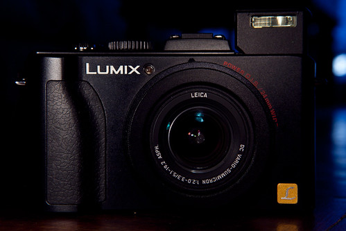 Lumix LX5 - Flash