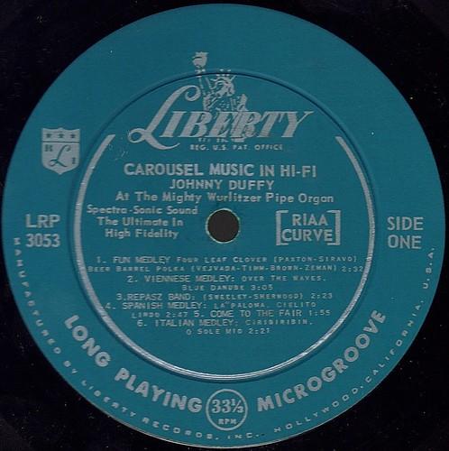 CAROUSEL MUSIC IN HI-FI label