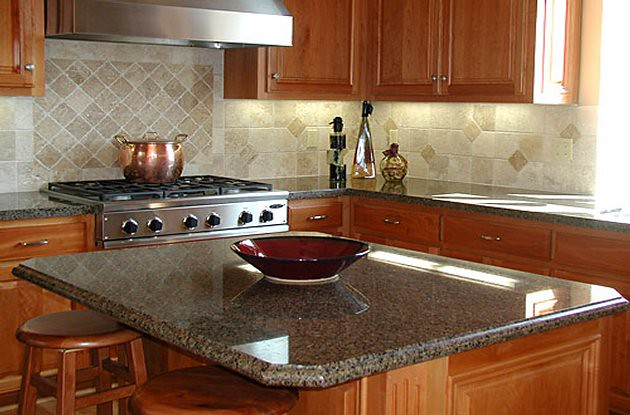 Granite Tropic Brown Kitchen