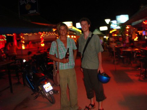 Me and German Jan in Lamai, Koh Samui...