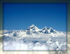 Mt. Everest (Carpe Feline) Tags: nepal fab sky mountain mountains clouds bravo asia bhutan peak peaks fabulous everest himalayas breathtaking peopleschoice mteverest them