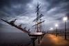 Pirates of the Greenock Waterfront (gms) Tags: scotland greenock bravo pirates tallship johnnydepp rigging lampposts inverclyde nochance youthtraining ingreenock