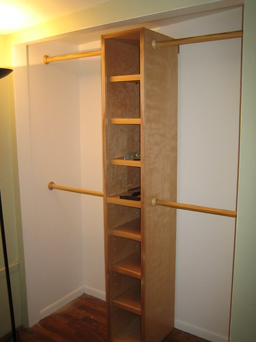 Completed Closet