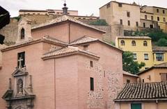 toledo::layered (beth mercer) Tags: travel espaa brick 35mm buildings tile spain toledo layers lc ricoh kr5superii